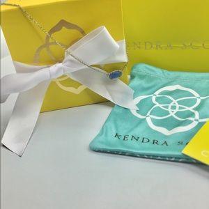 Authentic KENDRA SCOTT Blue Stone Elisa Necklace
